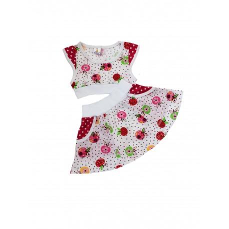КР11-10 Топ+юбка (кулирка рулонная)