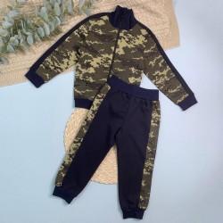 Кофта на молнии+штаны на манжете (футер)
