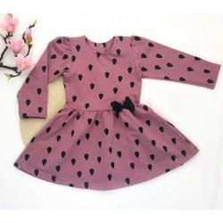 Платье с накатом